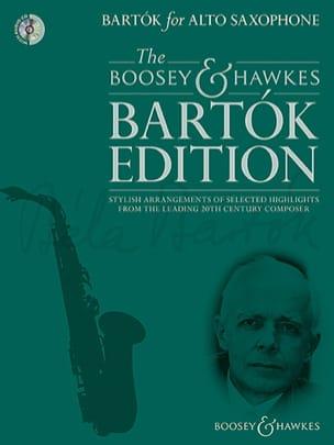 Bartók for Alto Saxophone - BARTOK - Partition - laflutedepan.com