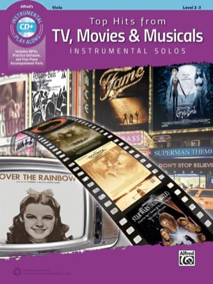 Top Hits from TV, Movies & Musicals Instrumental Solos for Strings laflutedepan