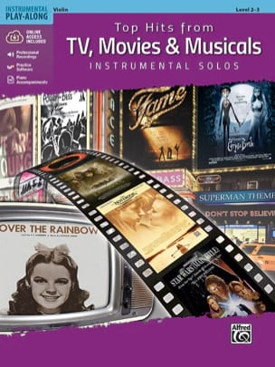 - Top Hits from TV, Movies - Instrumental Solos for Strings - Sheet Music - di-arezzo.com