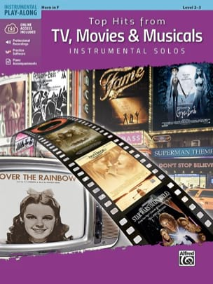 Top Hits from TV, Movies & Musicals Instrumental Solos-MP3 - laflutedepan.com