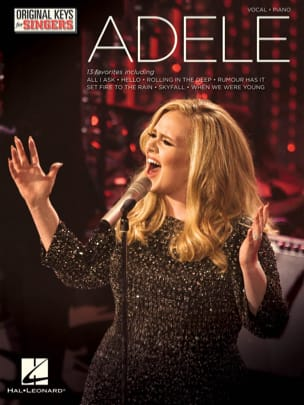 Adele - Adele - Original Keys for Singers - Partition - di-arezzo.fr