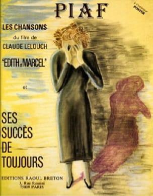 Ses succès de toujours Edith Piaf Partition laflutedepan