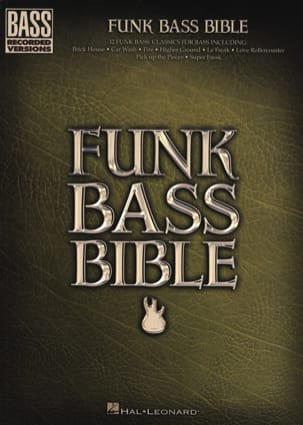 - Funk Bass Bible - Sheet Music - di-arezzo.com