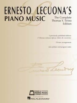 Ernesto Lecuona - Ernesto Lecuona's Piano Music - Partition - di-arezzo.fr