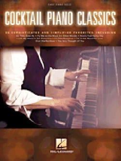 - Cocktail Piano Classics - Partition - di-arezzo.fr