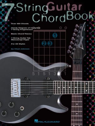 7-String Guitar Chord Book Chad Johnson Partition laflutedepan
