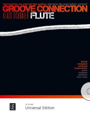 Klaus Dickbauer - Groove Connection - Flûte Traversière - Partition - di-arezzo.fr