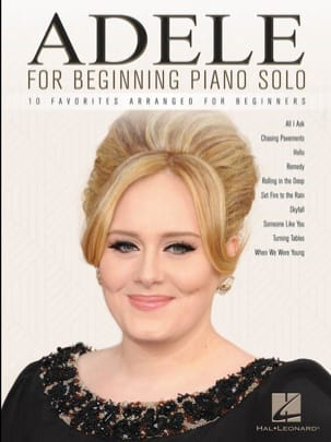 Adele for Beginning Piano Solo - Adele - Partition - laflutedepan.com