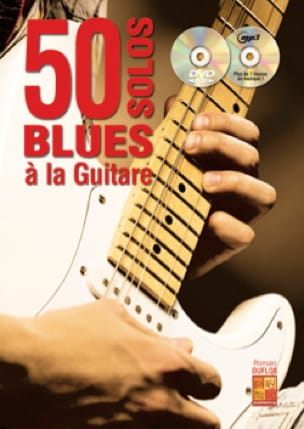 50 solos blues à la guitare Romain Duflos Partition laflutedepan