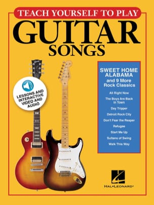 Teach Yourself To Play Guitar Songs - Sweet Home Alabama & 9 More Rock Classics - Partition - di-arezzo.fr