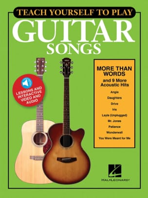 "Teach Yourself to Play Guitar Songs - ""More Than Words"" & 9 More Acoustic Hits - laflutedepan.com"