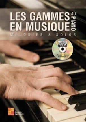 Les gammes en musique au piano Frédéric Dautigny laflutedepan