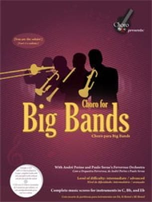 - Choro For Big Bands - Sheet Music - di-arezzo.com