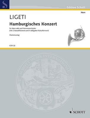 György Ligeti - Hamburg Concerto - Partition - di-arezzo.fr