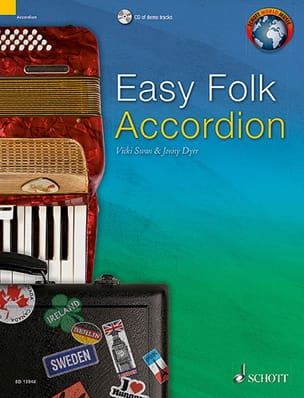 Easy Folk Accordion - 29 Traditional Pieces - laflutedepan.com