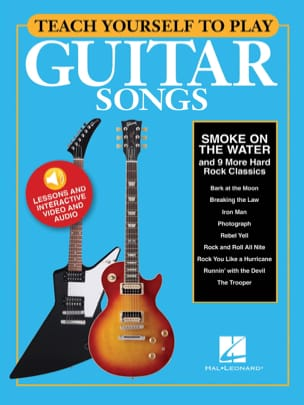 "Teach Yourself To Play Guitar Songs - ""Smoke On The Water"" & 9 More Hard Rock - laflutedepan.com"
