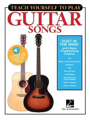 "Teach Yourself To Play Guitar Songs - ""Dust In The Wind"" & 9 More Fingerpicking - laflutedepan.com"
