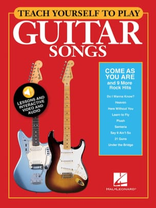 """- Teach Yourself to Play Guitar Songs - """"Come As You Are"""" - 9 More Rock - Sheet Music - di-arezzo.com"""