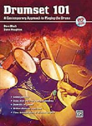 Steve Houghton & Dave Black - Drumset 101 A Contemporary Approach to Playing the Drums, Book & DVD - Partition - di-arezzo.fr