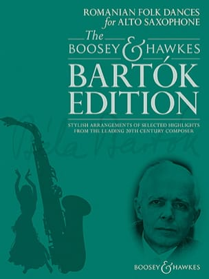 Romanian Folk Dances for Alto Saxophone BARTOK Partition laflutedepan
