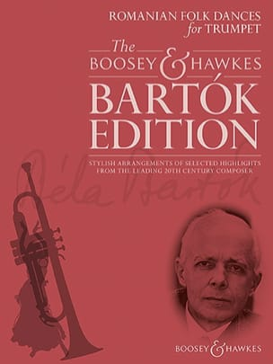 Romanian Folk Dances for Trumpet BARTOK Partition laflutedepan