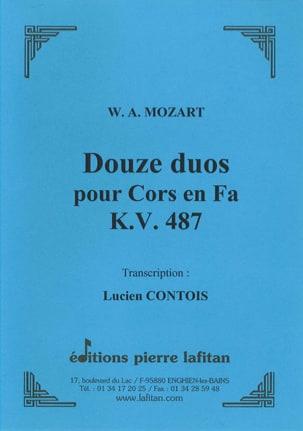 MOZART - Douze 12) Duos pour Cors en Fa - KV 487 - Partition - di-arezzo.fr