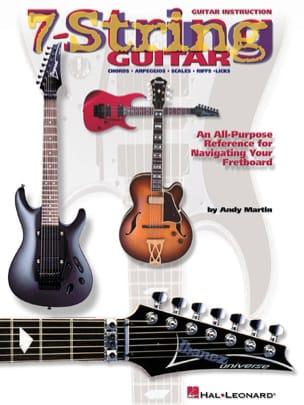 7-String Guitar Andy Martin Partition Guitare - laflutedepan