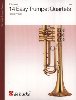 Pascal Proust - 14 Easy Trumpet Quartets - Sheet Music - di-arezzo.co.uk