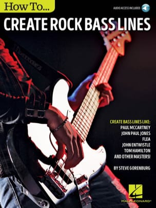 Steve Gorenburg - How to ... Create Rock Bass Lines - Sheet Music - di-arezzo.co.uk