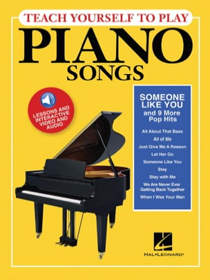 "- Teach Yourself To Play Piano Songs - ""Someone like You"" & 9 More Pop Hits - Partition - di-arezzo.fr"