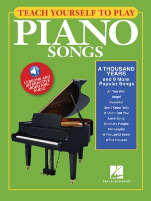 Teach Yourself To Play Piano Songs - A Thousand Years And 9 More Popular Songs - laflutedepan.com