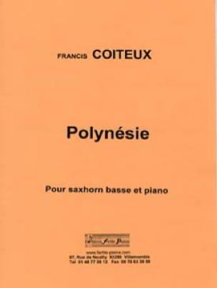Polynésie Francis Coiteux Partition Tuba - laflutedepan