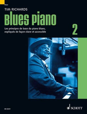 Tim Richards - Blues piano 2 - Edition en Français - Partition - di-arezzo.fr