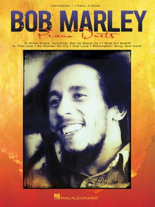 Bob Marley for Piano Duets Bob Marley Partition Piano - laflutedepan