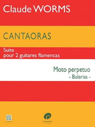 Claude Worms - Cantaoras - Moto perpetuo Bulerias - Noten - di-arezzo.de