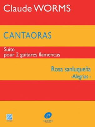 Claude Worms - Cantaoras - Rosa sanluquena Alegrias - Sheet Music - di-arezzo.com