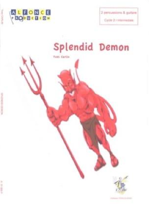Splendid Demon - Yves Carlin - Partition - laflutedepan.com