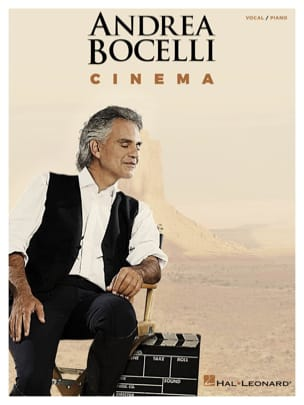 Cinema Andrea Bocelli Partition Pop / Rock - laflutedepan