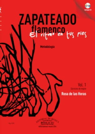 Rosa de las Heras - Zapateado flamenco, Volume 1 - Sheet Music - di-arezzo.co.uk