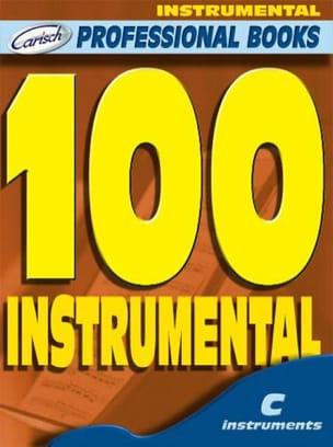 - 100 Instrumentals - Professional Books C Instruments - Partition - di-arezzo.fr