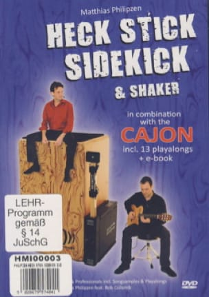 Matthias Philipzen - Heck Stick, Sidekick And Shake - Sheet Music - di-arezzo.co.uk