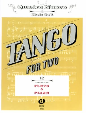 Tango For Two - Flûte & Piano - Partition - di-arezzo.fr
