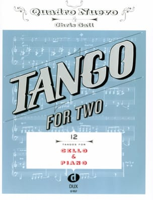 Tango For Two - Violoncelle & Piano Partition laflutedepan