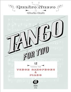 Tango For Two - Sax Ténor & Piano - Partition - laflutedepan.com