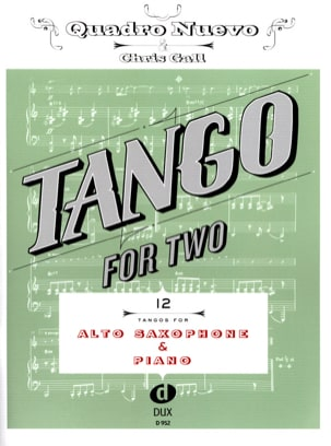 - Tango For Two - Sax Alto & Piano - Partition - di-arezzo.fr