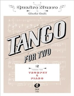 - Tango For Two - Trompette & Piano - Partition - di-arezzo.fr