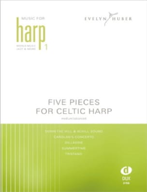 Five Pieces For Celtic Harp Volume 1 Partition Harpe - laflutedepan
