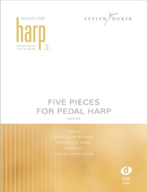- Five Pieces For Bass Pedal Harp 3 - Sheet Music - di-arezzo.co.uk
