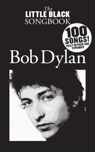 Bob Dylan - The Little Black Songbook - Bob Dylan - Partition - di-arezzo.fr