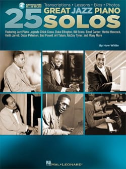 25 Great Jazz Piano Solos - Partition - Jazz - laflutedepan.com